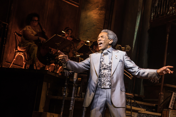 Hadestown Production Photo - Andre De Shields