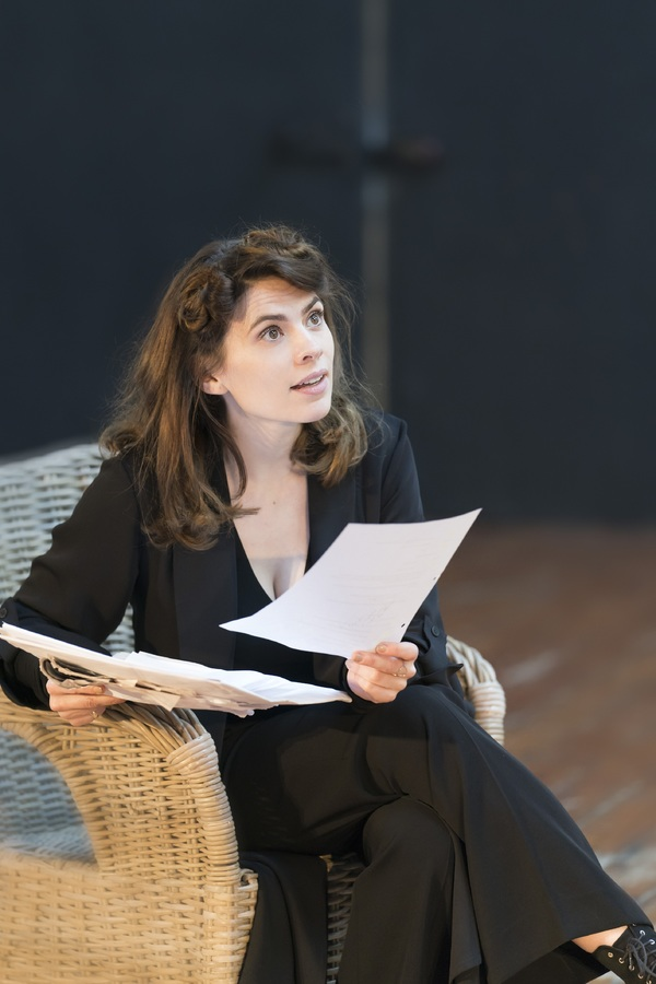 Photo Flash: In Rehearsal with Hayley Atwell and the Cast of ROSMERSHOLM