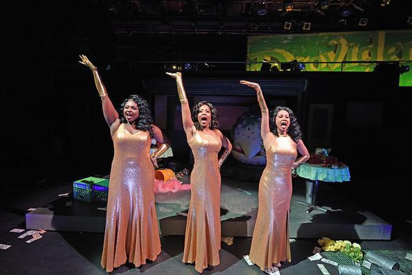 Urchin Girls, Carla Martinez, Kedren Spencer, and Elexis Morton