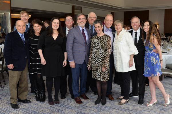 The Porchlight Music Theatre Board of Directors: Chuck Laff, William Gilmer, Jayne Dr Photo