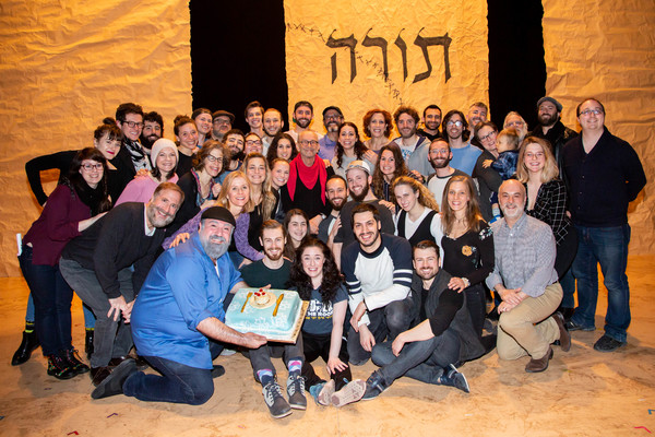 Photo Flash: FIDDLER ON THE ROOF IN YIDDISH Celebrates Joel Grey's Birthday!