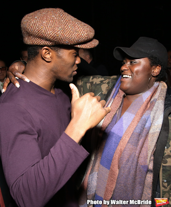Jarvis B. Manning and Danielle Brooks