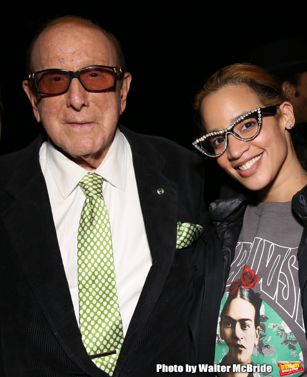Clive Davis and Dascha Polanco