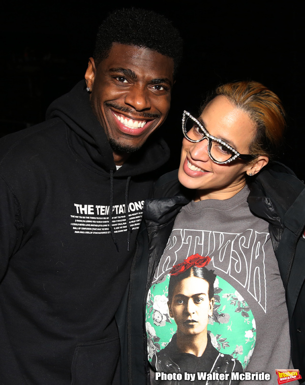 Photo Coverage: Danielle Brooks, Clive Davis, and More Visit AIN'T TOO PROUD