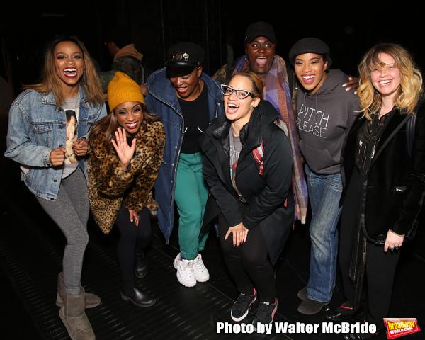 Taylor Symone Jackson, Marie Woods, Nasia Thomas, Danielle Brooks, Dascha Polanco, Rashidra Scott and Natasha Lyonne