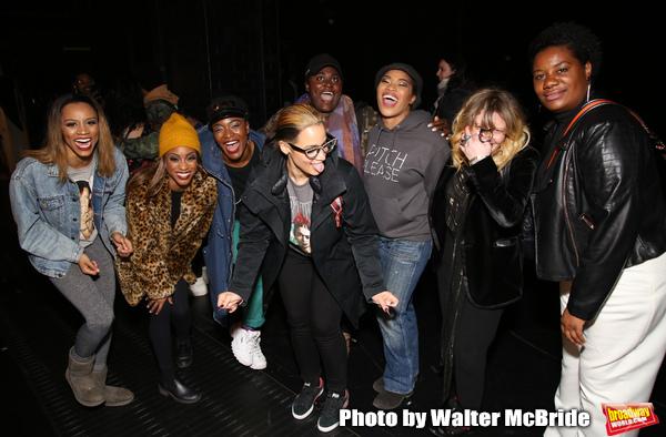 Taylor Symone Jackson, Marie Woods, Nasia Thomas, Danielle Brooks, Dascha Polanco, Rashidra Scott, Natasha Lyonne, and Adrienne C. Moore