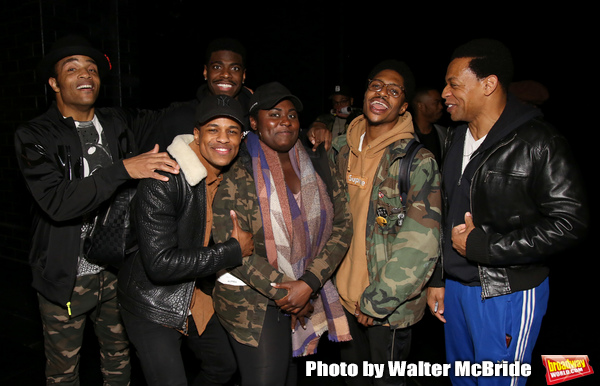 James Harkness, Jeremy Pope, Jawan M. Jackson, Danielle Brooks, Ephraim Sykes and Derrick Baskin