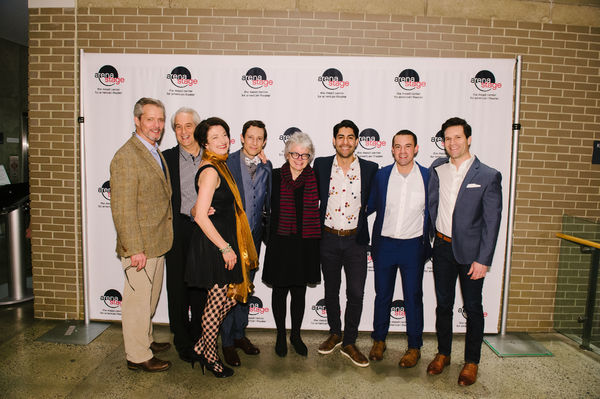 David Andrew Macdonald, Michael Russotto, Lise Bruneau, Jonathan David Martin, Director Jackie Maxwell, Perry Young, Dylan Jackson and Nicholas Baroudi