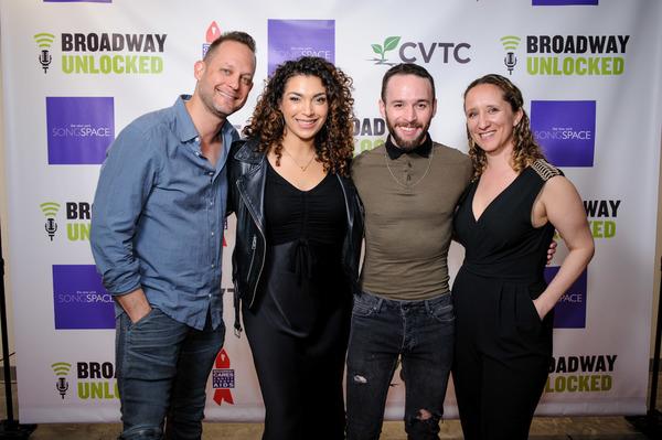 Derek Gregor, Michelle Beth Herman, Gabe Violett, Selda Sahin Photo