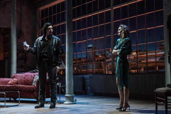 Photo Flash: First Look at Adam Driver, Keri Russell & More in BURN THIS on Broadway