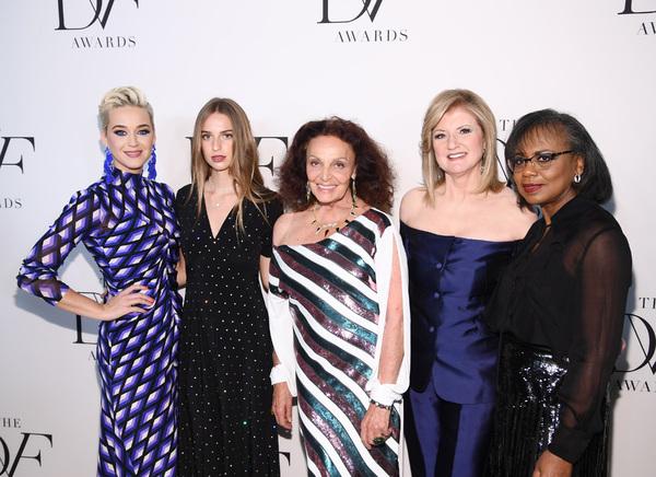 Katy Perry, Talita von Furstenberg, Diane von Furstenberg, Arianna Huffington and Ani Photo