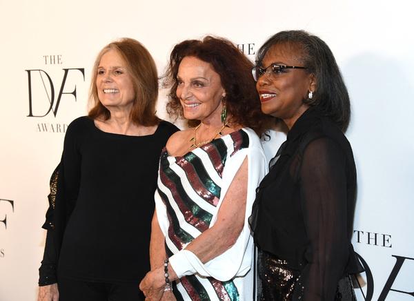Gloria Steinem, Diane von Furstenberg and Fran Lebowitz  Photo
