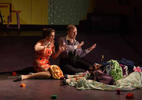 Photo Flash: BABY WITH THE BATHWATER Opens Sunday April 14