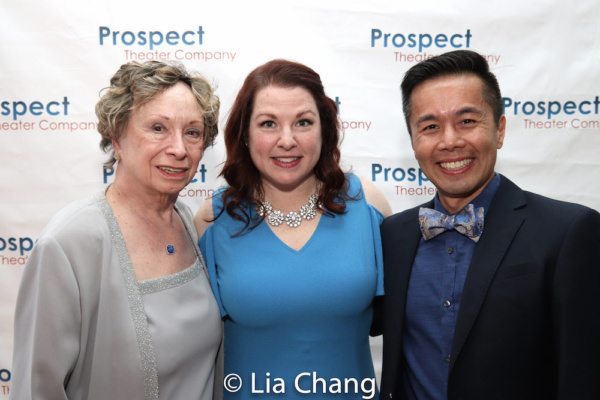 Honorees Harriet Slaughter, Michelle McGorty and Steven Eng Photo