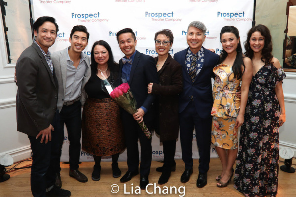 Hansel Tan, Devin Ilaw, Julie Miller, honoree Steven Eng, Nina Zoie Lam, Jason Ma, Diane Phelan and Ali Ewoldt
