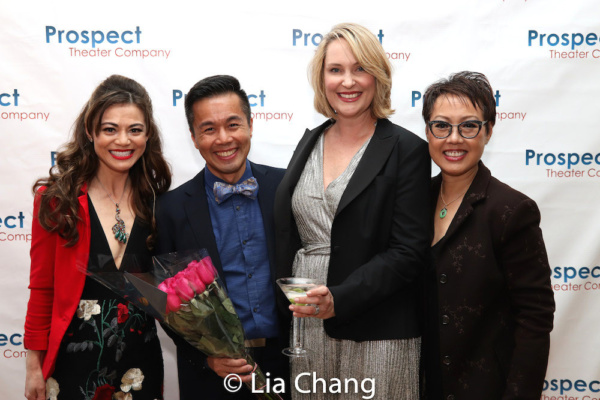 Kimberlee Fadner, honoree Steven Eng, Kristi Hutchinson-Towey and Nina Zoie Lam