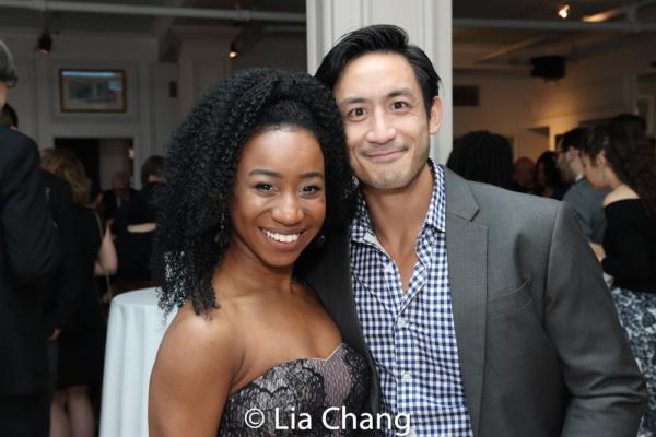 Destinee Rea and Hansel Tan