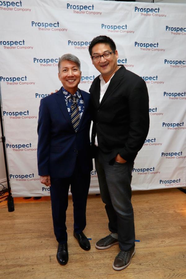 GOLD MOUNTAIN creator Jason Ma and AMERICAN MORNING creator Timothy Huang