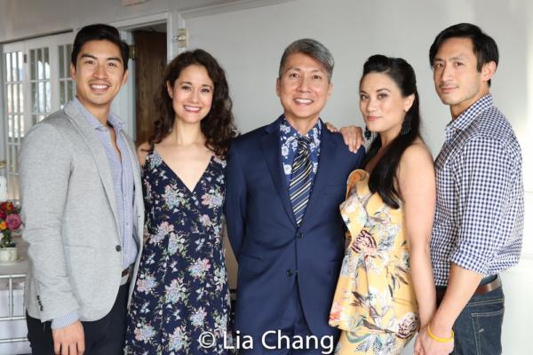Devin Ilaw, Ali Ewoldt, Jason Ma, Diane Phelan and Hansel Tan Photo
