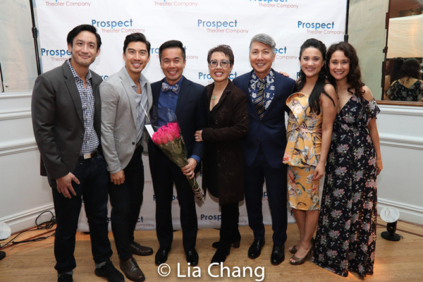 Hansel Tan, Devin Ilaw, honoree Steven Eng, Nina Zoie Lam, Jason Ma, Diane Phelan and Ali Ewoldt