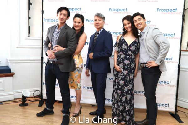 Hansel Tan, Diane Phelan, Jason Ma, Ali Ewoldt and Devin Ilaw Photo