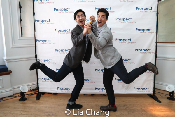 Hansel Tan, who will star in Timothy Huang''s AMERICAN MORNING, with Devin Ilaw Photo