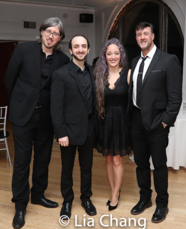 The band: Brian Sanders, Andy Roninson, Kiki Enomoto and Matt Scharglass