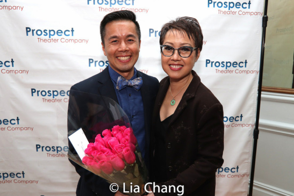 Honoree Steven Eng with his NAAP co-founder Nina Zoie Lam