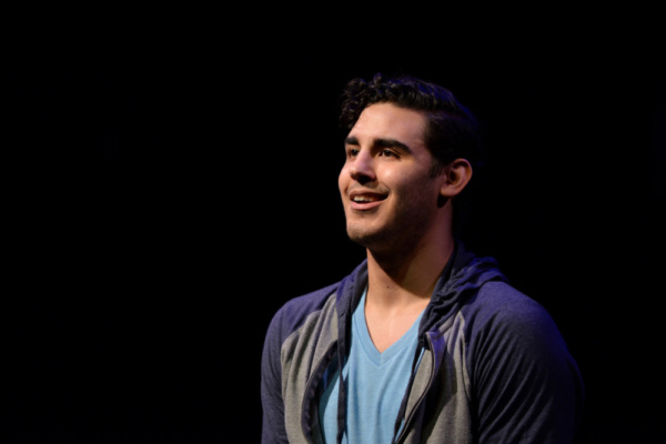 Alejandro Fonseca as Paul San Marco in A CHORUS LINE from Porchlight Music Theatre  Photo