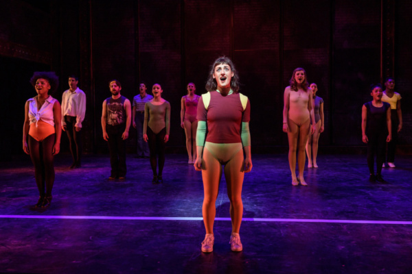 Adrienne Storrs as Diana Morales in A CHORUS LINE from Porchlight Music Theatre