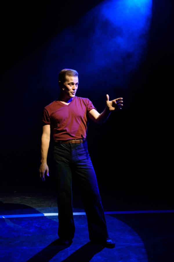 John Marshall Jr. as Don Kerr in A CHORUS LINE from Porchlight Music Theatre