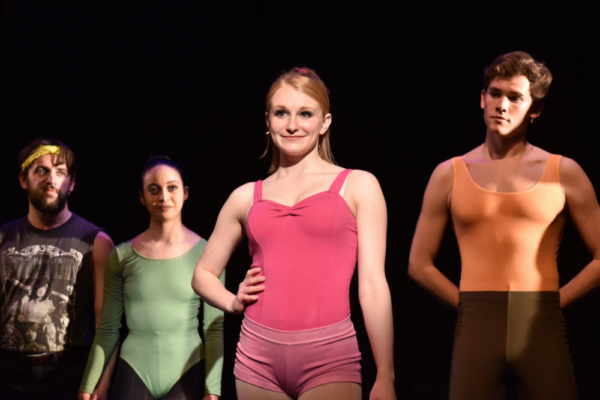 Natalie Welch as Val Clark in A CHORUS LINE from Porchlight Music Theatre