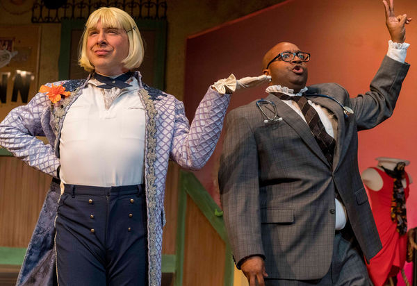 Photo Flash: First Look at THE SERVANT OF TWO MASTERS at New Village Arts