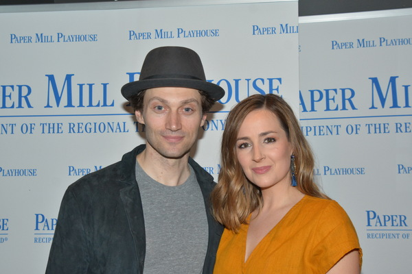 Photo Coverage: Inside Opening Night of BENNY AND JOON, Starring Bryce Pinkham, Hannah Elless, and More at Paper Mill Playhouse