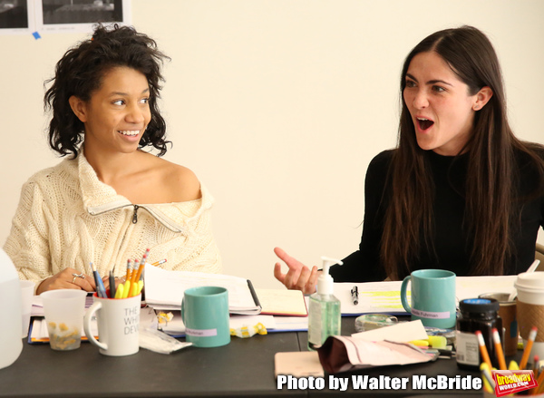 Photo Coverage: In Rehearsal with The Red Bull Theatre's MAC BETH