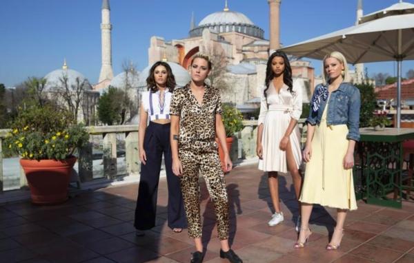 Kristen Stewart, Naomi Scott, Ella Balinska and Elizabeth Banks