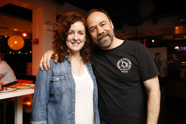 Linda Mugleston and Danny Burstein