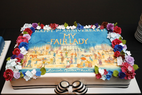 Photo Flash: MY FAIR LADY Celebrates One Year on Broadway