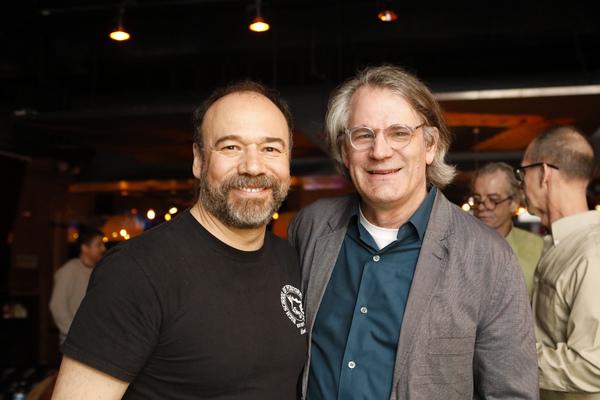 Danny Burstein and Bartlett Sher Photo