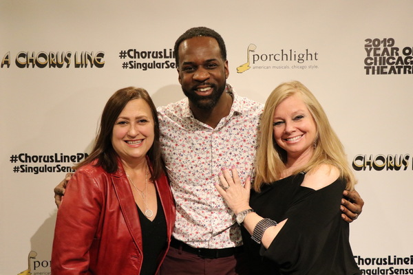 Music Director Linda Madonia, Choreographer Christopher Chase Carter and Director Br Photo