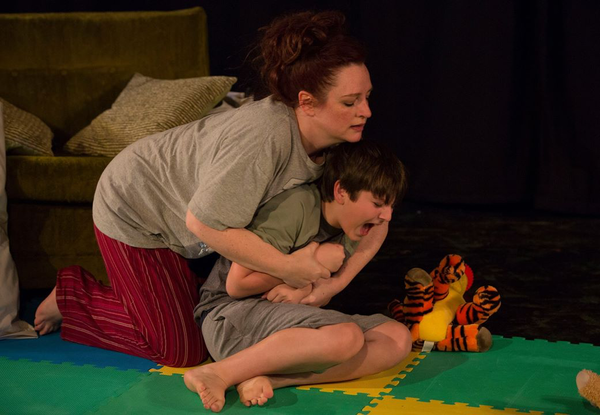 Photo Flash: New York Debut of SELF-INJURIOUS BEHAVIORat The 30th St. Theater at Urban Stages