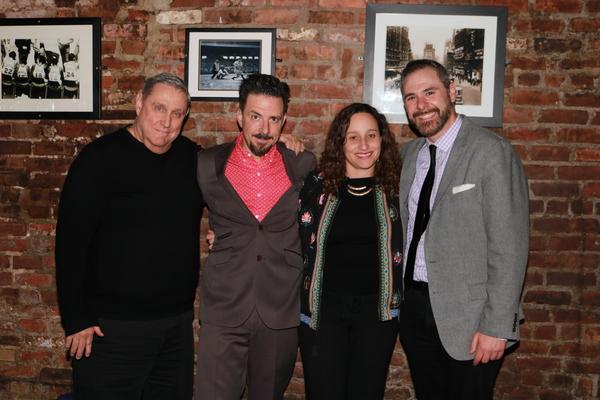 James Nicola, Thaddeus Phillips, Tatiana Mallarino and Jeremy Blocker