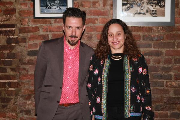 Thaddeus Phillips and Tatiana Mallarino Photo