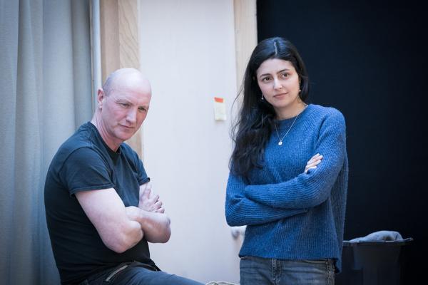 Paul Brennan and Shanaya Rafaat Photo