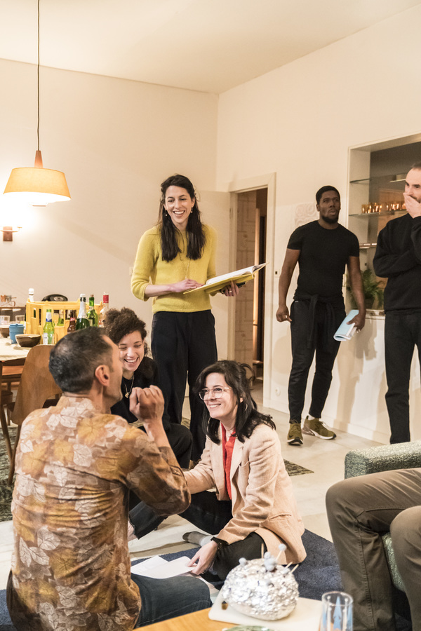 Photo Flash: Inside Rehearsal For ANNA at National Theatre