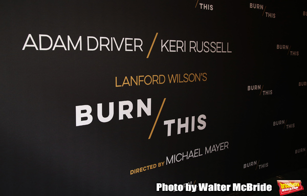 "The Broadway Opening Celebration for Landford Wilson's ""Burn This""  at Hudson Theatre on April 15, 2019 in New York City."