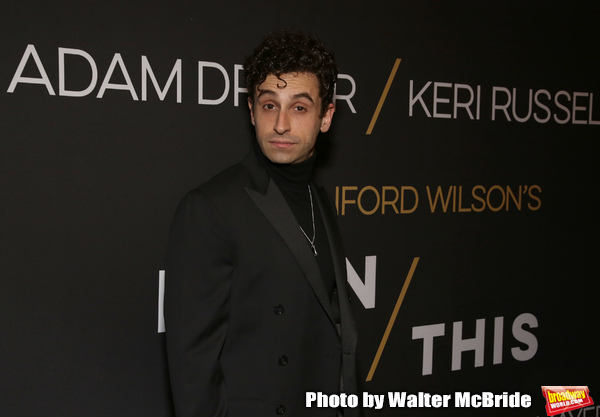 "Brandon Uranowitz attends the Broadway Opening Celebration for Landford Wilson's ""Burn This""  at Hudson Theatre on April 15, 2019 in New York City."