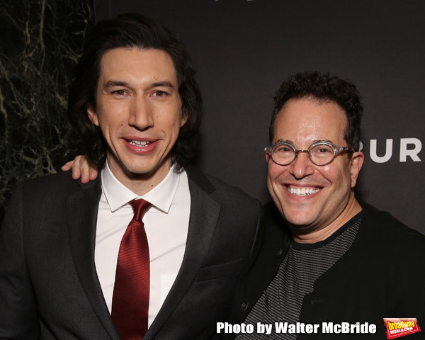 Adam Driver and Michael Mayer Photo