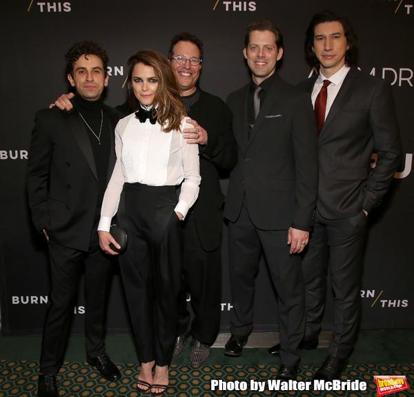 Brandon Uranowitz, Keri Russell, Michael Mayer, David Furr and Adam Driver  Photo