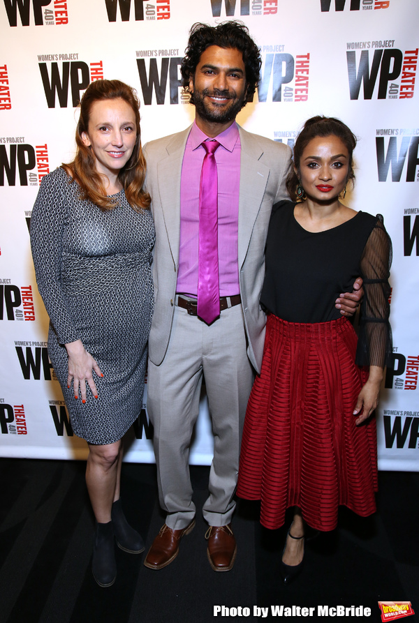 Adrienne Campbell-Holt, Sendhil Ramamurthy and Kavi Ladnier Photo